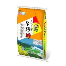 대한민국 대표쌀 각 지역 우수쌀 우리 농민의 정성 그대로 담았어요
