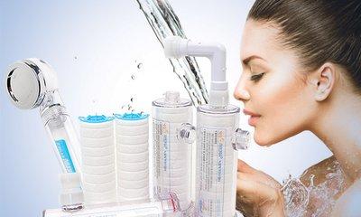 녹물제거 연수기 수압상승 샤워기 매일사용하는물 깨끗하게사용하자