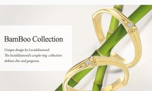[르시엘] BAMBOU COUPLE RING COLLECTION