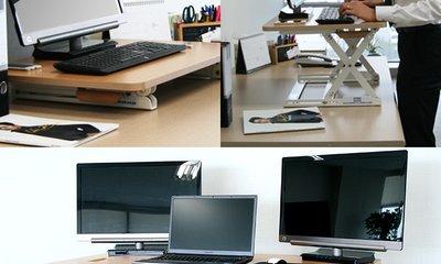 데스크탑데스크 서서일하는 책상 높이조절 가능! 신세계 회원특가