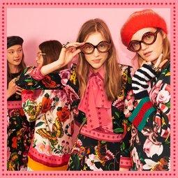 구찌 스페셜 컬렉션 전세계 온라인 독점 구찌 가든 컬렉션을 만나보세요