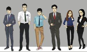 삼성전자 직원들의 리얼 패션
