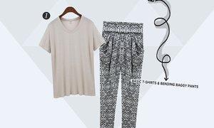 여성 패션 키워드, LOOSE & SLIM