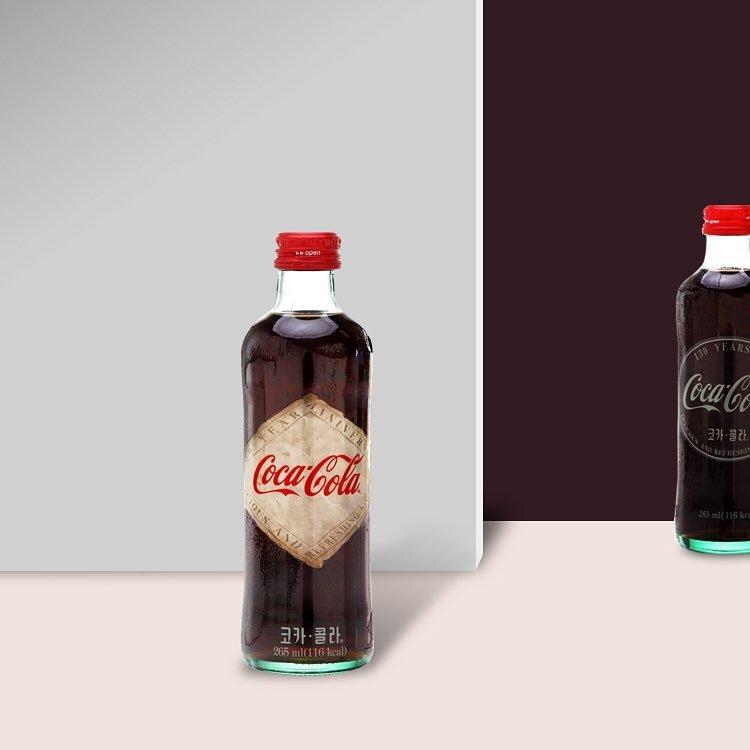코카콜라의 130주년 기념