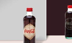 코카콜라의 130주년 한정판 병보틀