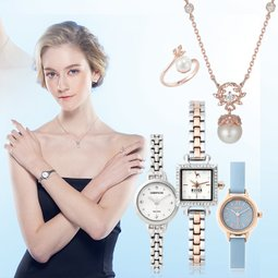 [코스모폴리탄 시계] 화려한, 심플한, 개성있는 손목위에 패션!!