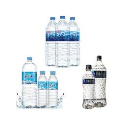 소용량/대용량 국내/수입생수 탄산/이온음료 브랜드대전