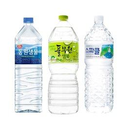 수분을 책임지다 국내 수입 생수 나들이용 소용량부터 우리집 책임질 대용량까지