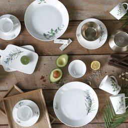 식탁위의 정원 그린테이블 파릇한 스타일링