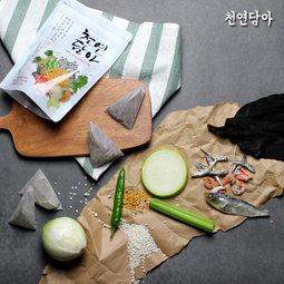 천연그대로 담아 조미료&다시팩 쉐프아빠가만드는 천연 조미료