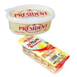 프레지덩 수입 유제품 맛있는 버터&치즈