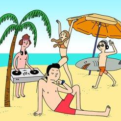 Beach Boys 해변으로 가요 든든 여행아이템