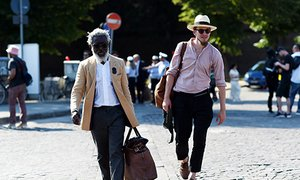 Best Dressed Men In Florence