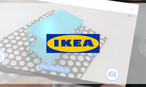 이케아의 AR 쇼핑 앱