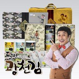 2017추석선물세트 달인김병만광천김 고소하고 바삭한 전통방식 광천김