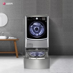 LG TROMM 트윈워시 세탁기 위는 드럼 아래는 미니통돌이