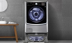 LG TROMM 트윈워시 세탁기 위는 드럼 아래는 미니워시
