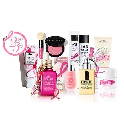 핑크 리본 리미티드 에디션 유방암 캠페인 25주년 한정판 앤 잇아이템 25퍼센트 오프