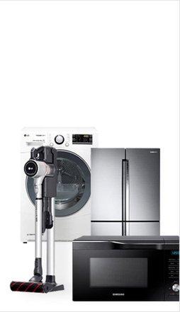 라이벌전 가전 대표 브랜드 엘지전자 대 삼성전자 냉장고 세탁기 소형가전 외