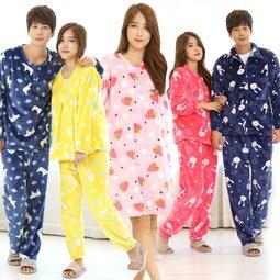 포근포근 파자마 따뜻한 수면잠옷 올겨울 준비완료!