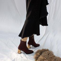 스타일리쉬한 엘리자벳 앤 아멜리에 디자이너 에프더블유 슈즈 독특한 디자인 디테일