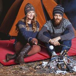 겨울 시즌 캠핑 캠핑/에어매트 파크론