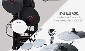 집에서도 즐길 수 있는 NUX, CARLSBRO 전자드럼 세트!