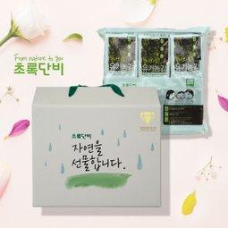 초록단비 유기농 김선물세트 사전예약 9+1 1세트도 무료배송