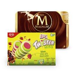 매그넘&트위스터 40%할인 아이스크림 BIG MATCH