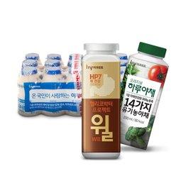 한국 야쿠르트 윌/쿠퍼스/야쿨트 건강을 위한  손쉬운 방법!