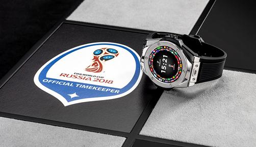 러시아 월드컵 주심의 시계