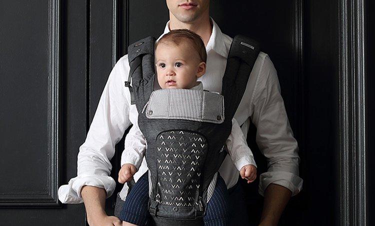 [소르베베] 엄마와 아기를 위한 허리가 편안한 아기띠