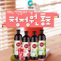 청정원 홍초!! 100%자연발효초