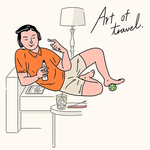 ART OF TRAVEL 여행의 기술 여행용품 특집전