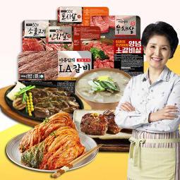 간편한 한끼식사 김치/탕/양념육 믿고먹는 이종임 브랜드 식품모음