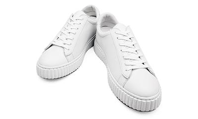 [클레용] 키높이 신발 수제화 공법으로 제작된 슈즈