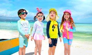 아동수영복 유아래쉬가드 워터레깅스 아쿠아슈즈