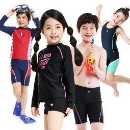 아동 실내수영복 아동 래쉬가드 초등생존수영