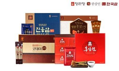 정관장/한삼인/한국삼/올즙/네이처드림 건강식품 브랜드 모음