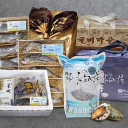 농부마음 한가위 수산물 선물세트 산지에서 보내는 전복 굴비 선물