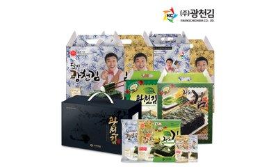 50년 전통 광천김 본사운영 바삭바삭한 광천김 특가전