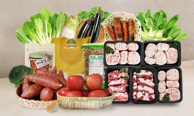영양만점 건강밥상 축산/수산/농산물 골고루 담아먹자! 한번에 장봐요~