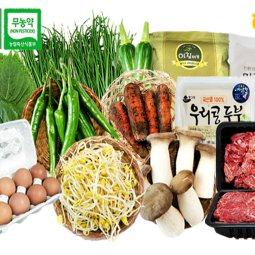 건강 밥상을 위한 선택 오창농협 친환경 농산물/부분육 없는 게 없다! 맛과 영양 잡아요