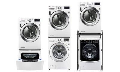 LG TROMM 건조기&세탁기  우리집에 딱 맞게 다양하게 설치
