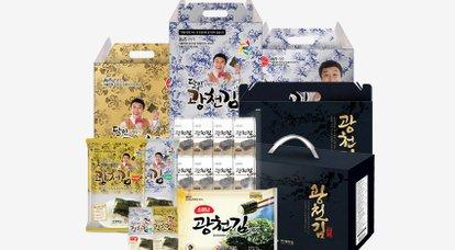 50년 전통 광천김 선물세트 특가전