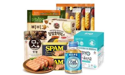 CJ제일제당 브랜드위크 스팸/유산균 등 특별할인