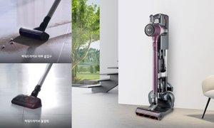 LG 코드제로 A9 물걸레 청소기 A9 하나로 물걸레청소까지!