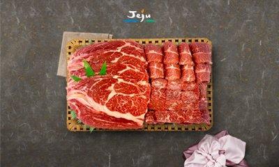 [제주축산] 설 제주 한우/흑돼지 선물세트
