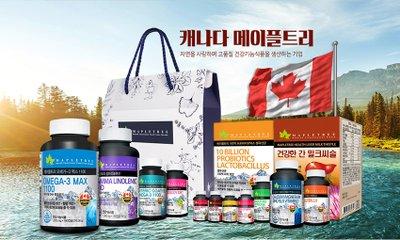 [MapleTree] 설 명절선물세트 캐나다산 건강기능식품_메이플트리 건강을 선물하세요~*