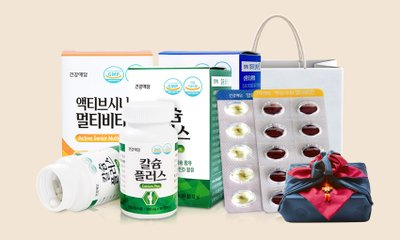 건강애담 설선물세트 비타민 오메가3외